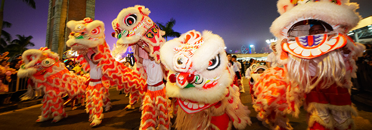 Restaurants for Chinese New Year (2015)