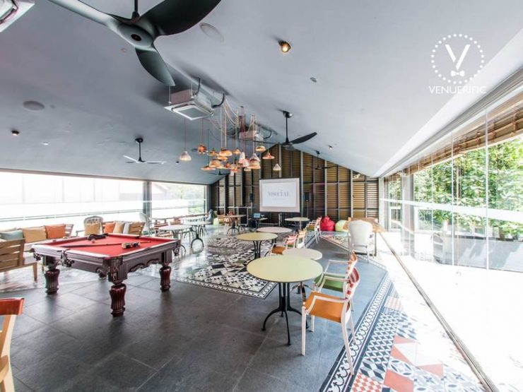 indoor-pool-21st-birthday-party-venue-event-space-house-for-rent-venuerific-beast-butterflies-singapore