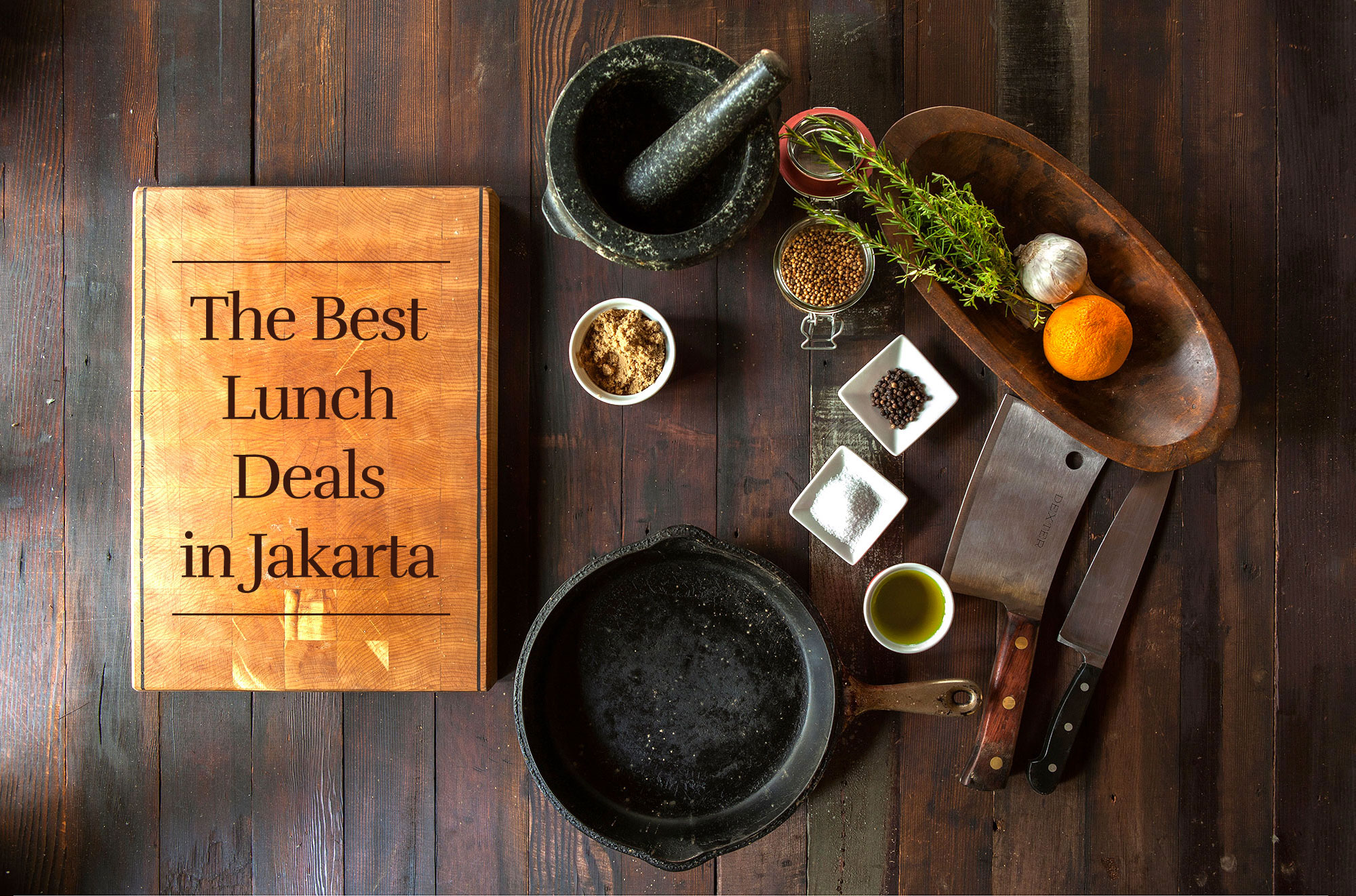 The Best Lunch Deals in Jakarta