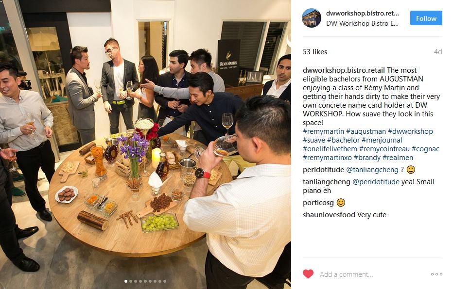 instagram-worthy-places-venuerific-DW-workshop-food-spread