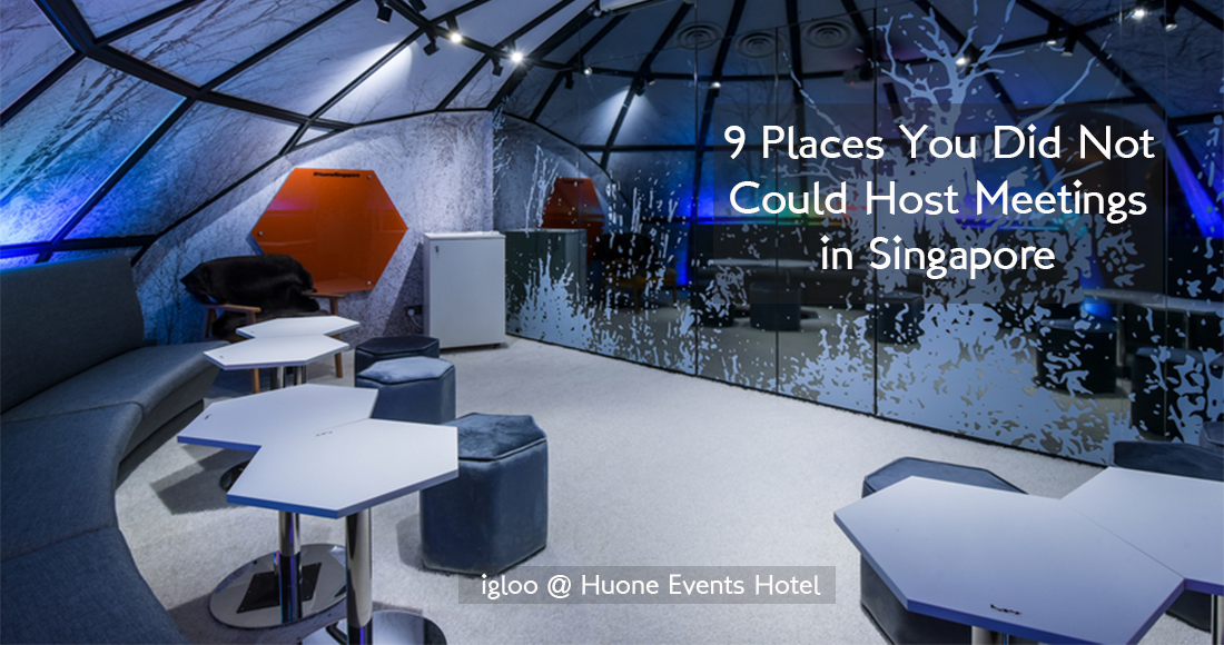 9 Places You Did Not Know Could Host Meetings in Singapore