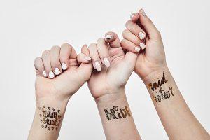 bridal shower squad tattoes
