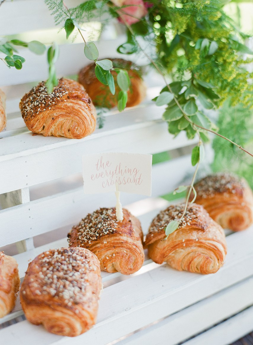 croissant bakery idea for baby shower party