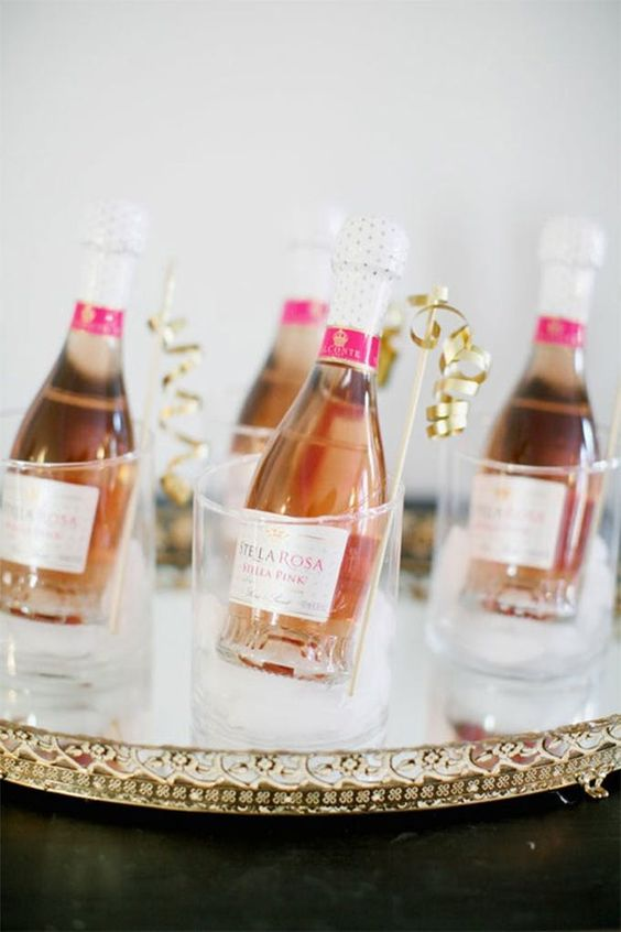 cocktail idea for baby shower drinks