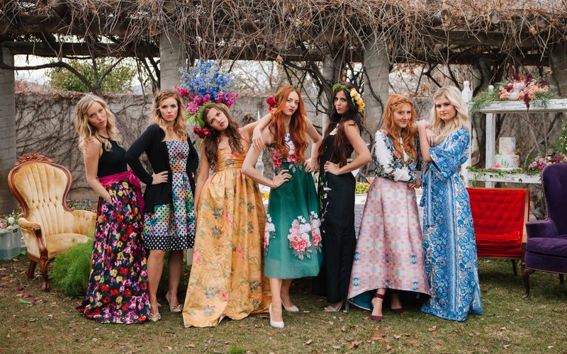 bohemian bridal shower dresses