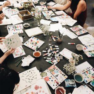 Fondant Painting Workshop