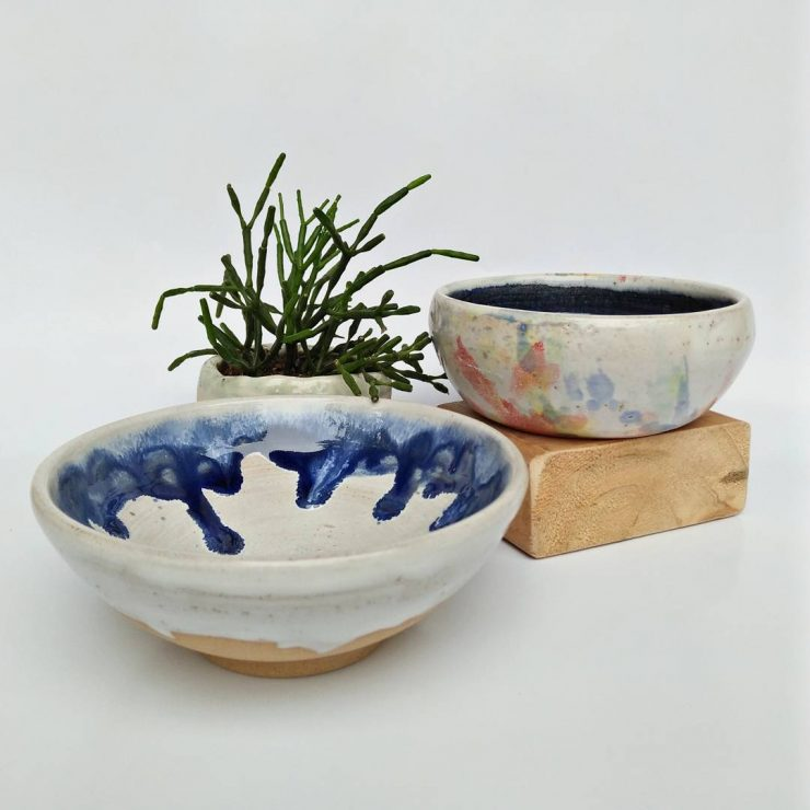 Potteries from Centre Pottery Singapore