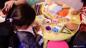 Art Activities for the Kids at the Great Christmas Village