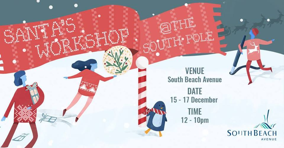 Santa's Workshop @ The South Pole cover photo for event