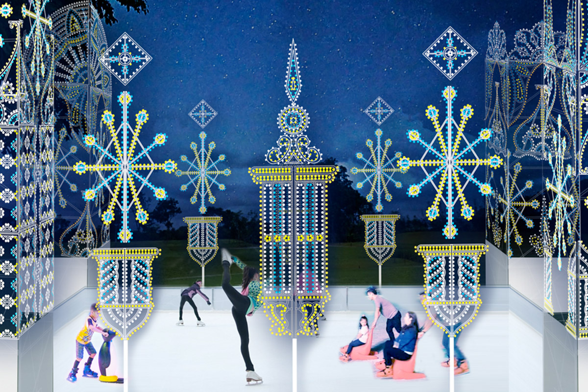 Christmas Wonderland's Skating Rink