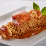 Angel Hair Pasta with Maine Lobster at The Fullerton Hotel Lighthouse Restaurant & Rooftop Bar