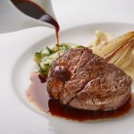 Filetto Di Fassone Al Barbaresco from The Fullerton Hotel Lighthouse Restaurant & Rooftop Bar
