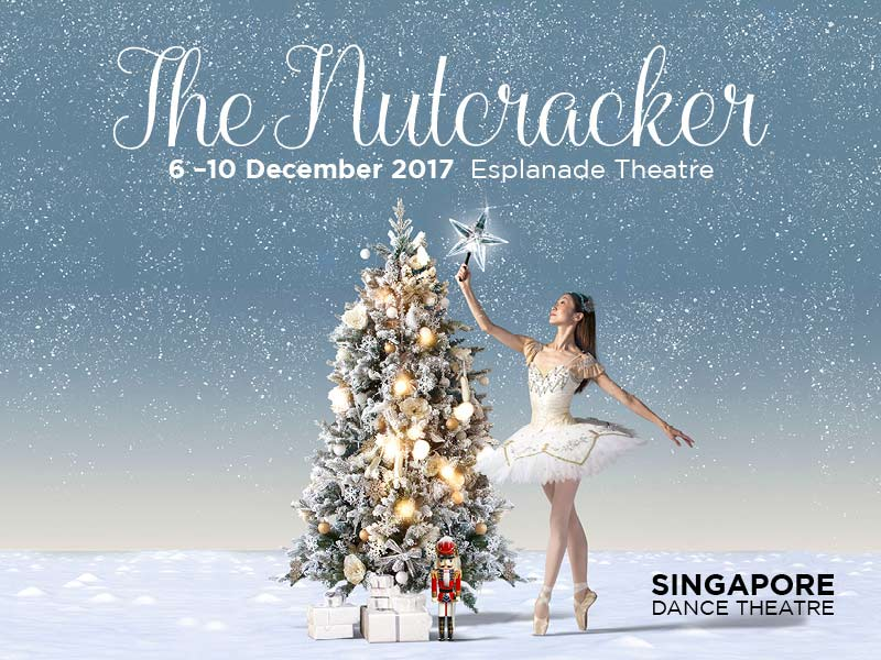 The Nutcracker cover photo for Esplanade Performance 2017 in Singapore