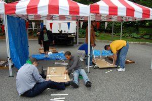unique-team-bonding activities-venuerific-blog-DIY-go-kart-raft