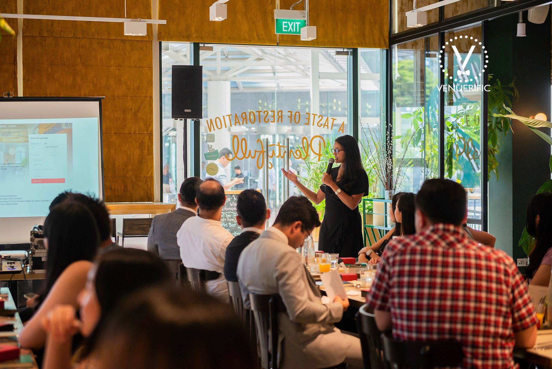 Venuerific Launches Corporate Luncheon Series in Partnership with Grab in Singapore 2018
