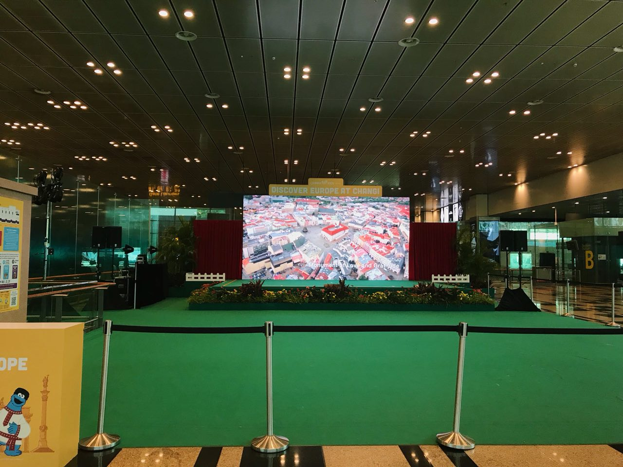 Changi Airport venue to Watch World Cup Singapore