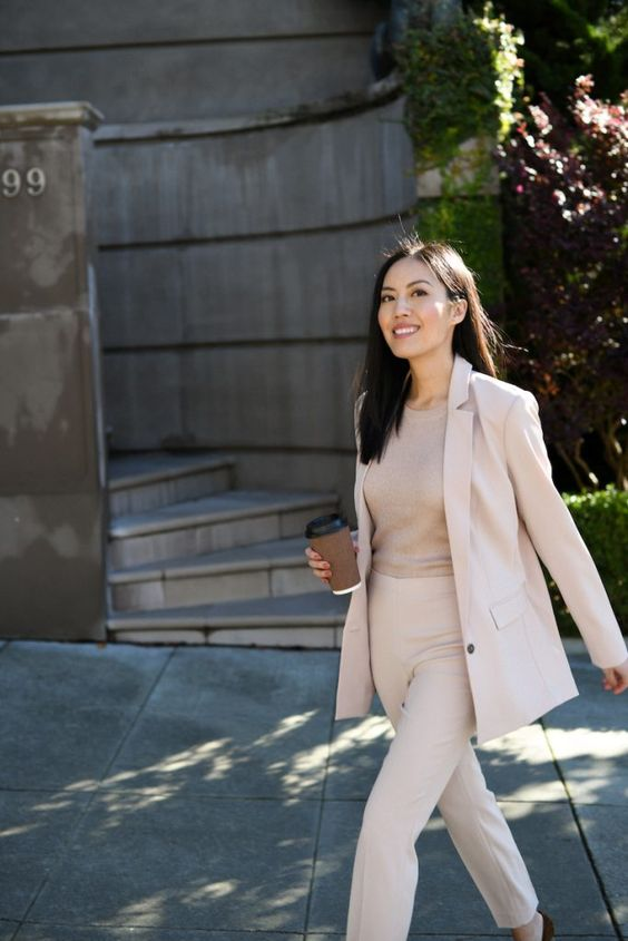 simple style for girl job interview