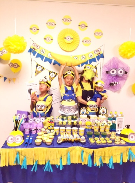 Kids-birthday-venuerific-blog-minions-setup-decorations