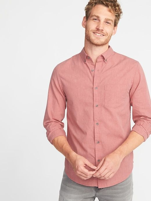 pink casual style for man