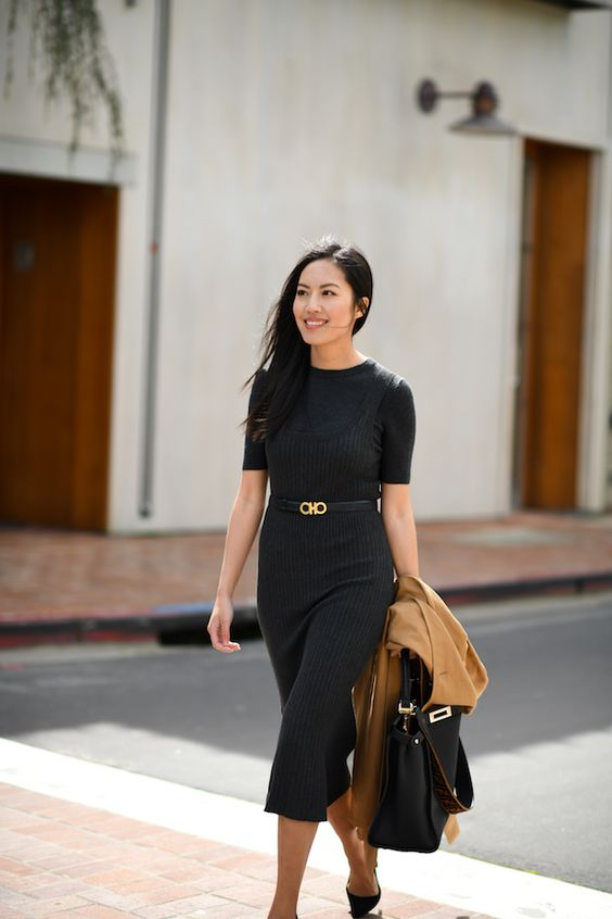 how to dress simple to work