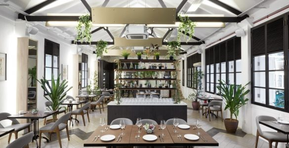 spacious and bright event space in Singapore