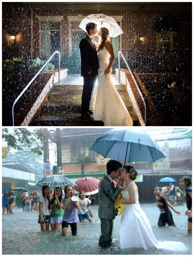Comparison of expectations and reality for wedding in Singapore in Venuerific blog