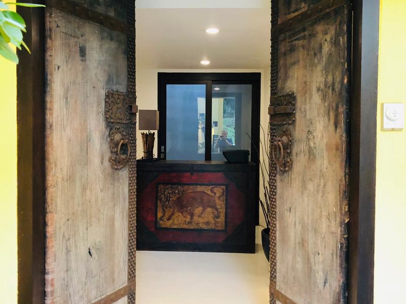 Picture of Antique Doors Entrance at B28 Unique Event Space