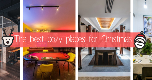 9 Best Cozy Places for Christmas Party with Friends and Family in Singapore