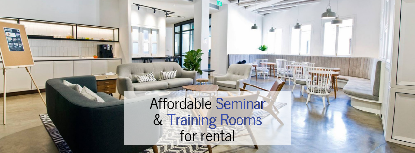 8 Affordable Seminar and Training Rooms for Rental in Singapore