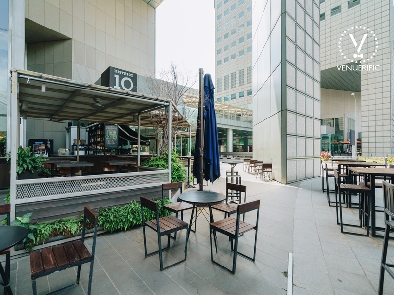 modern outdoor seating area district 10