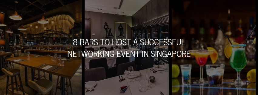 7 Bars to Host a Successful Networking Event in Singapore