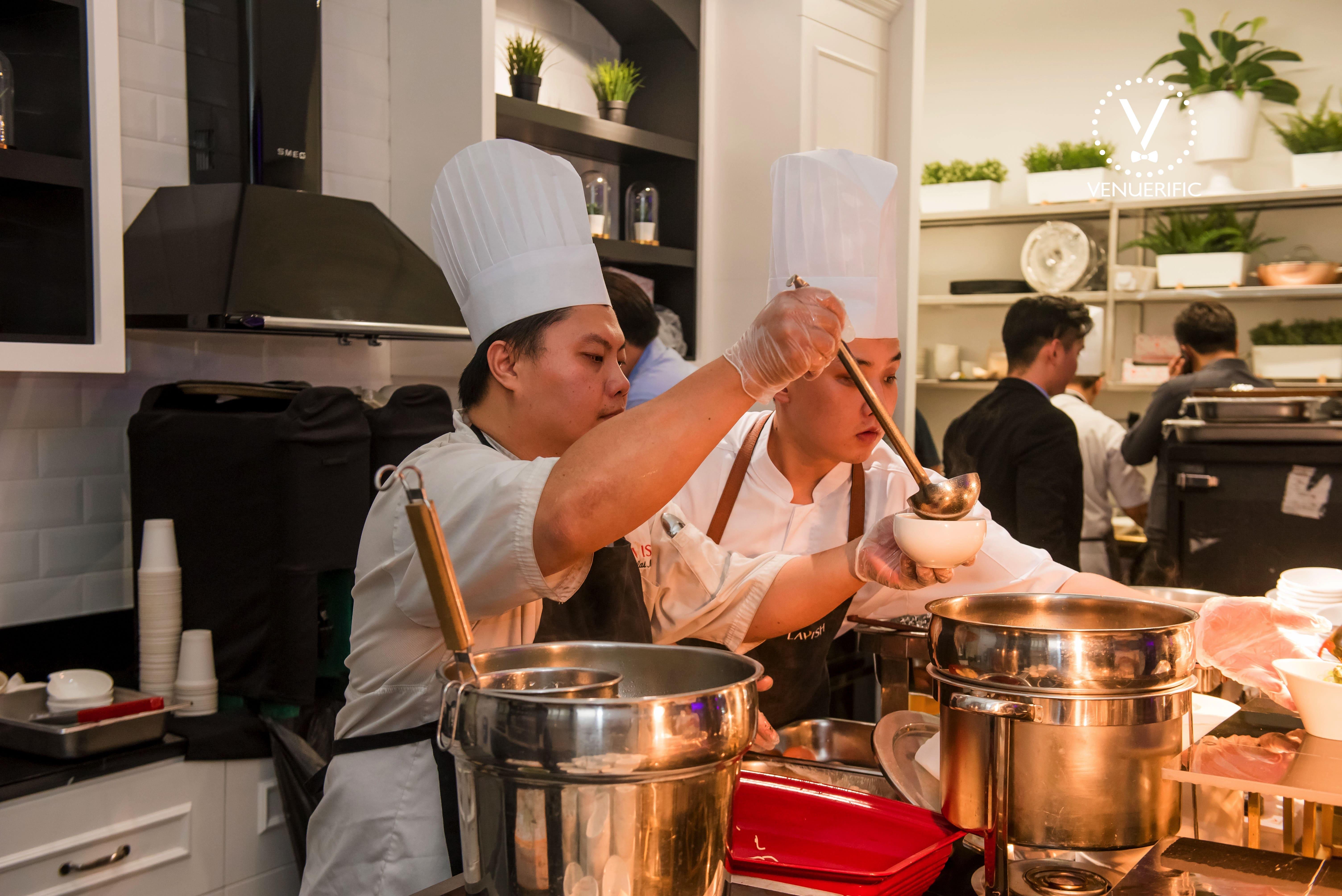 venuerific-blog-6th-anniversary-party-lavish-catering