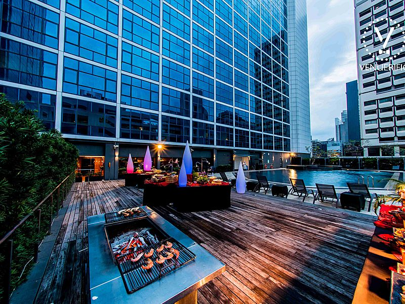 Venuerific venue, an outdoor event space at Pool Deck by Orchard Hotel Singapore
