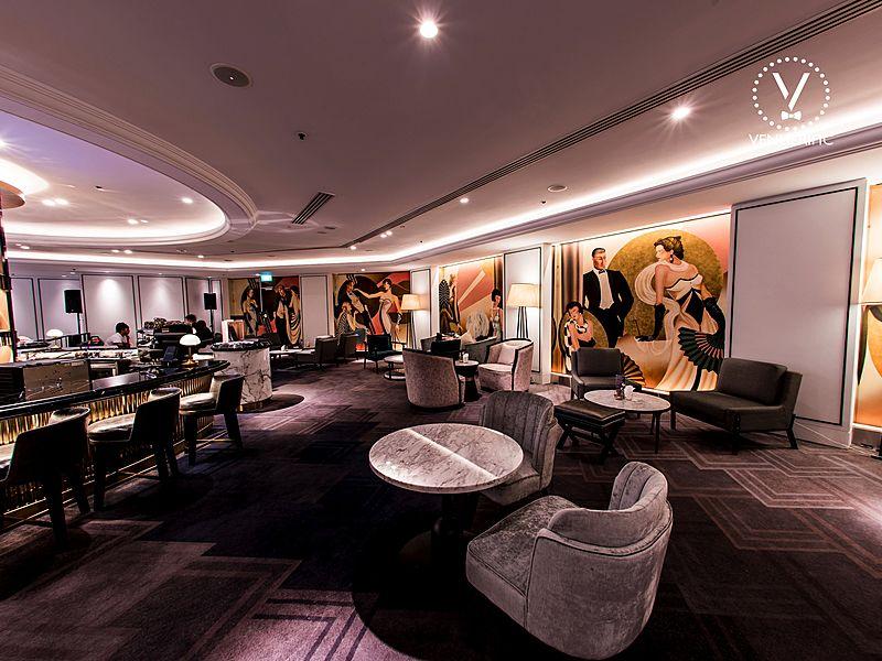 Unique design bar in Singapore