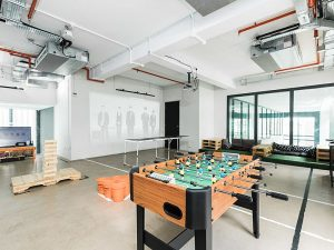event space with activity in Singapore