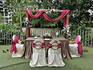 Outdoor event space for wedding with affordable price Singapore