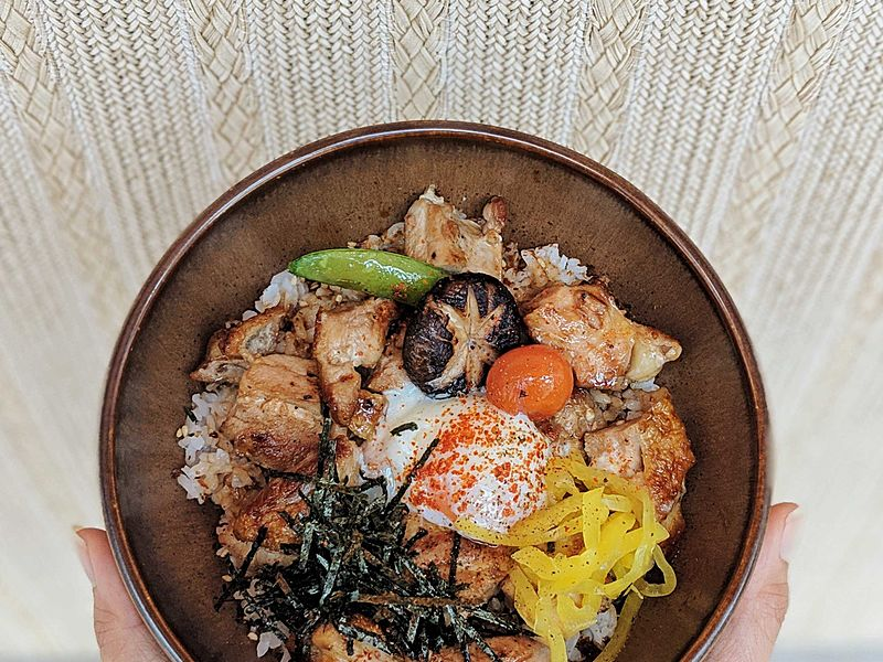 fine dining tepanyaki bowl food