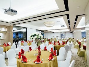 luxurious and modern ballroom Singapore