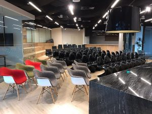 cozy and modern seminar event space singapore
