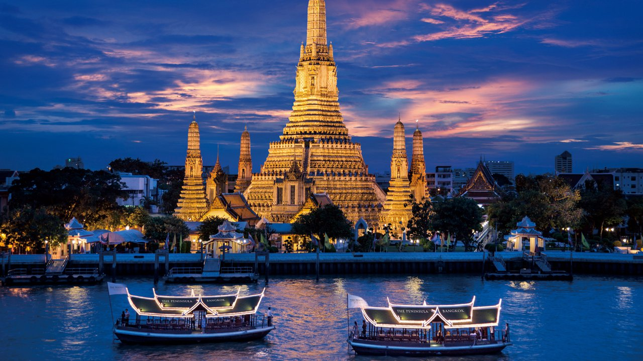 Shopping and foodie cities Thailand Bangkok