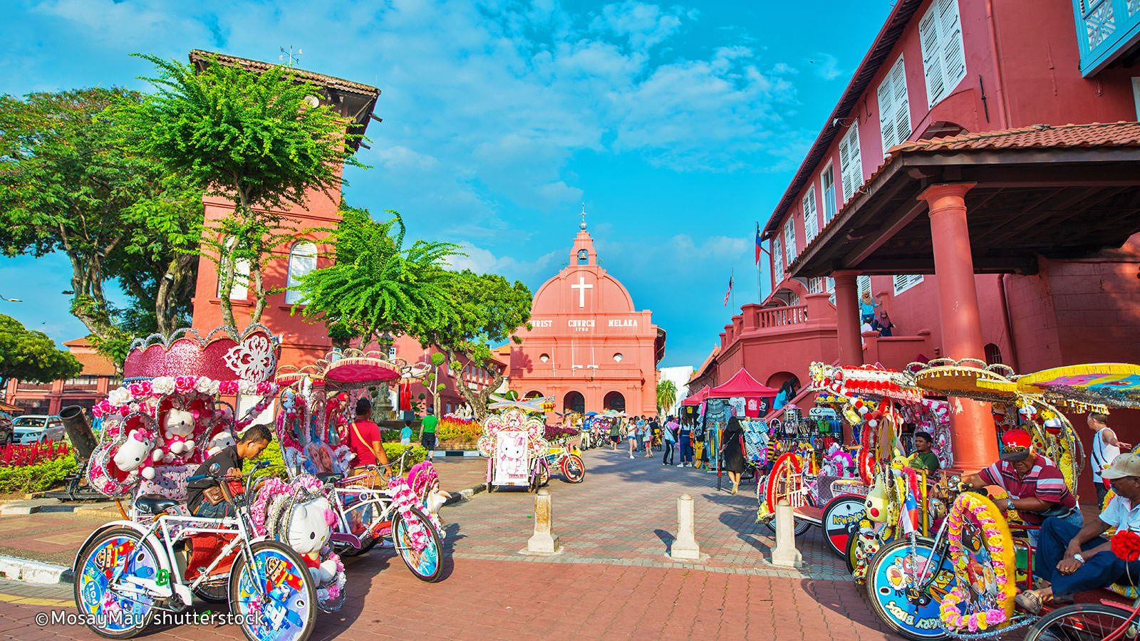 Eye-catching historical sights at Malacca City