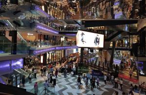 Funan grande mall entrance