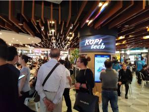 Kopitech with tech experience singapore