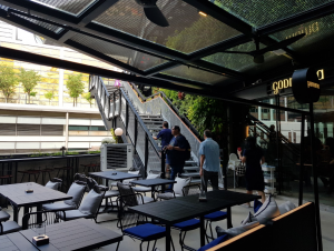 peranakan restaurant singapore with outdoor area