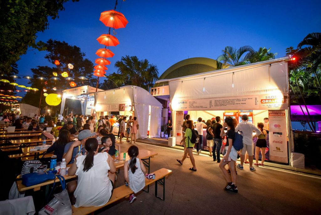 night food fest for culinary experience