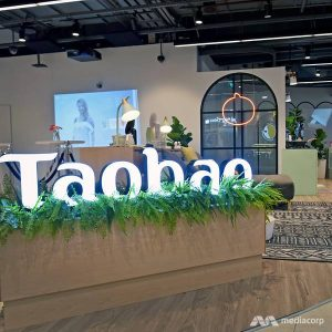 First Taobao store Singapore funan mall
