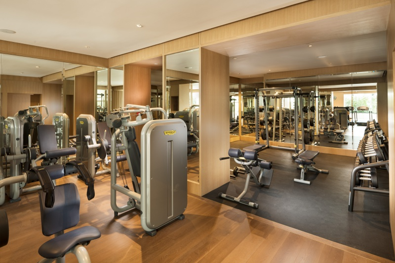 24 hour gym and fitness area conrad centennial singapore