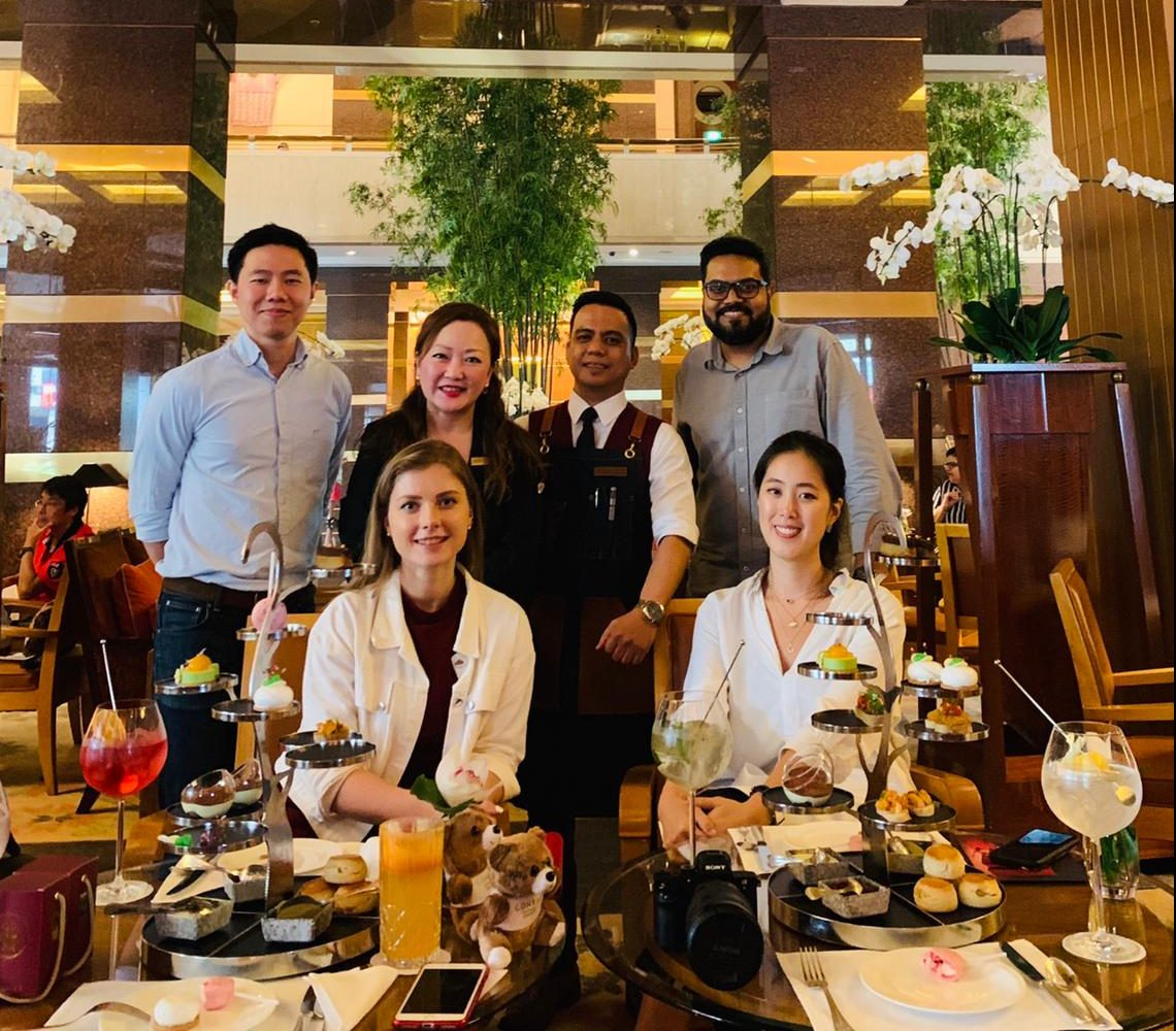 venuerific team with Conrad Centennial Singapore team