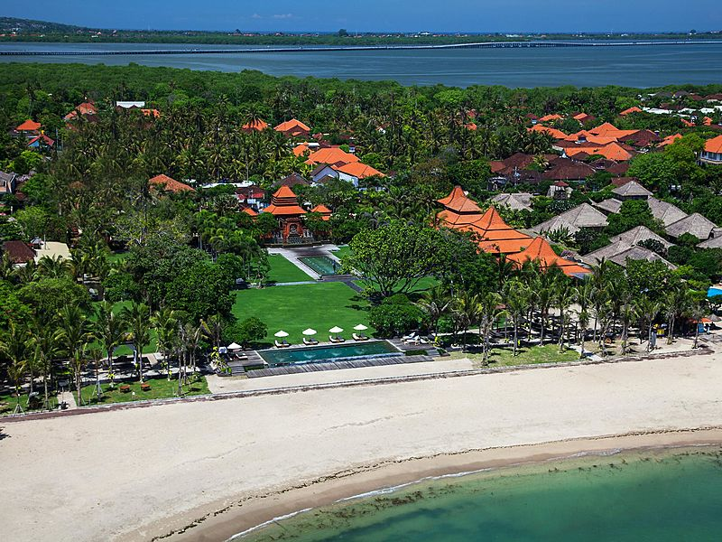 Taman Bhagawan Bali beautiful private beach for private event