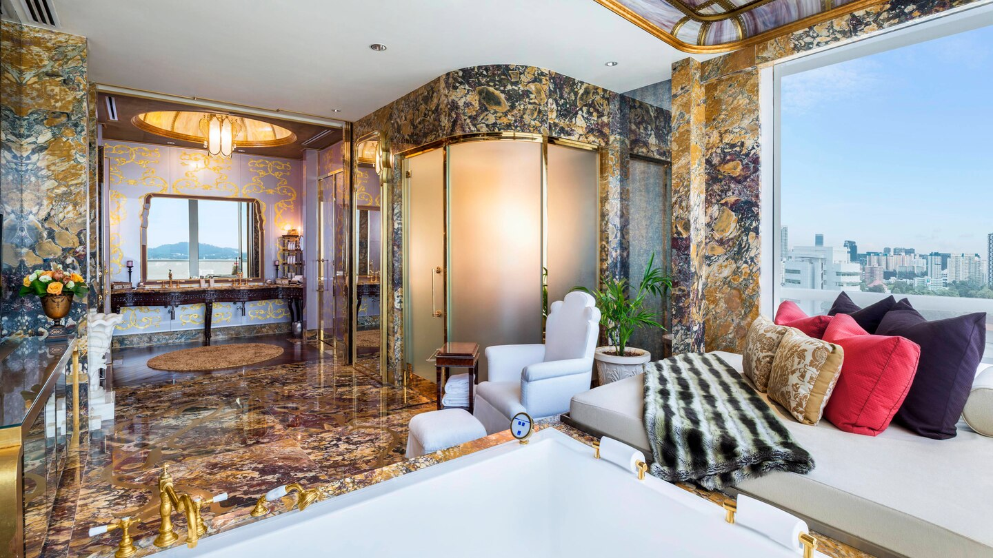 elegant bathroom interior the st. regis singapore